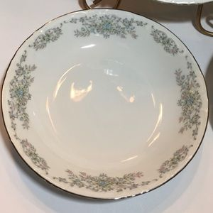 Vintage Dining - Norleans China Theresa Coupe Soup Bowls Set of 3
